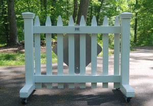 4 ft Free-standing Driveway Gate