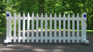 8 ft Free-standing Driveway Gate