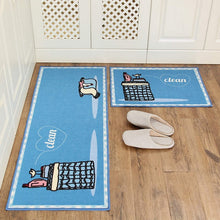 Cargar imagen en el visor de la galería, Long Kitchen Mat Bath Carpet Floor Mat Home Entrance Doormat Tapete Absorbent Bedroom Living Room Floor Mats Modern Kitchen Rug