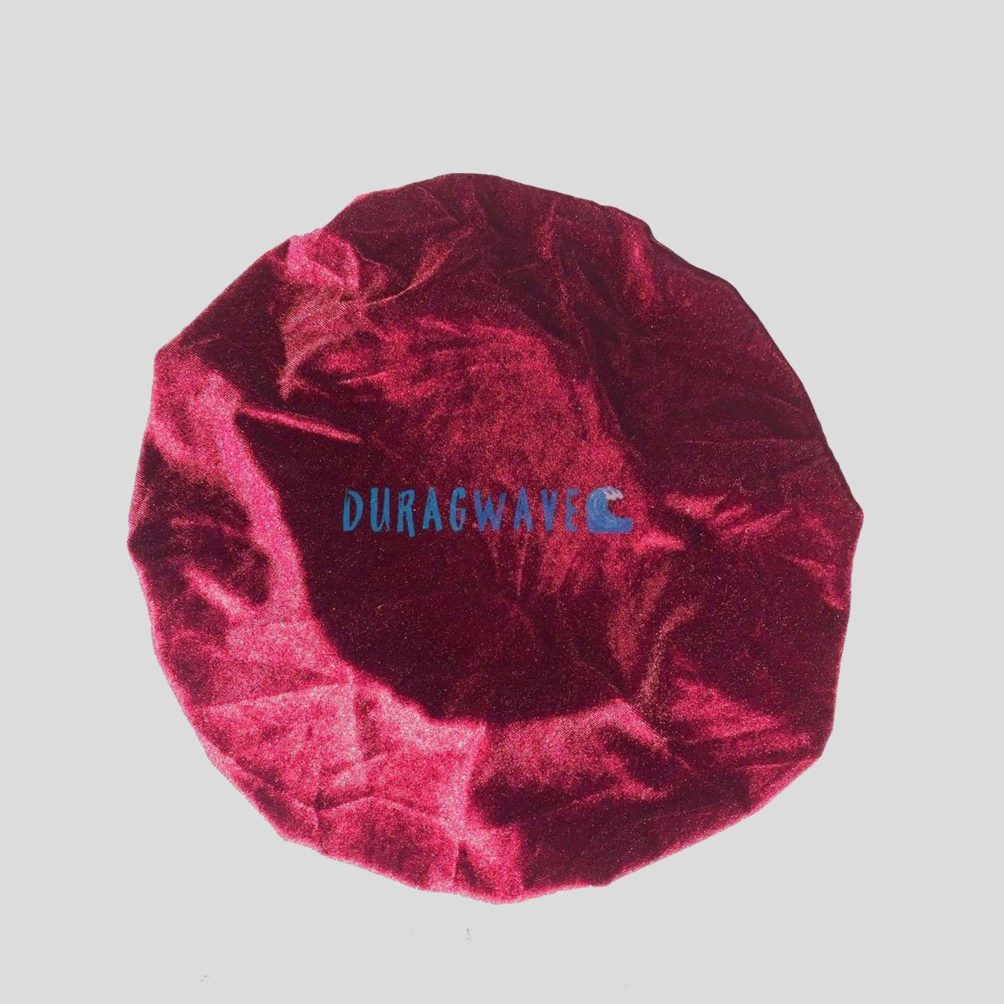 Burgundy Velvet Bonnet | Durag Wave