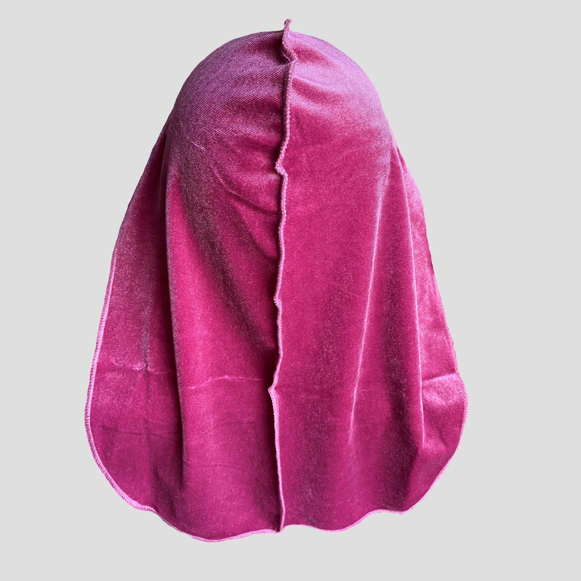 Premium Grape Velvet Durag - Durag Wave