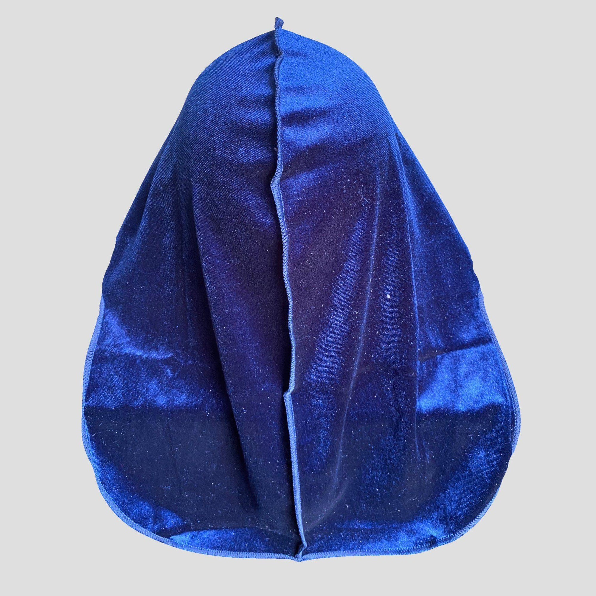 Premium Royal Blue Velvet Durag - Durag Wave
