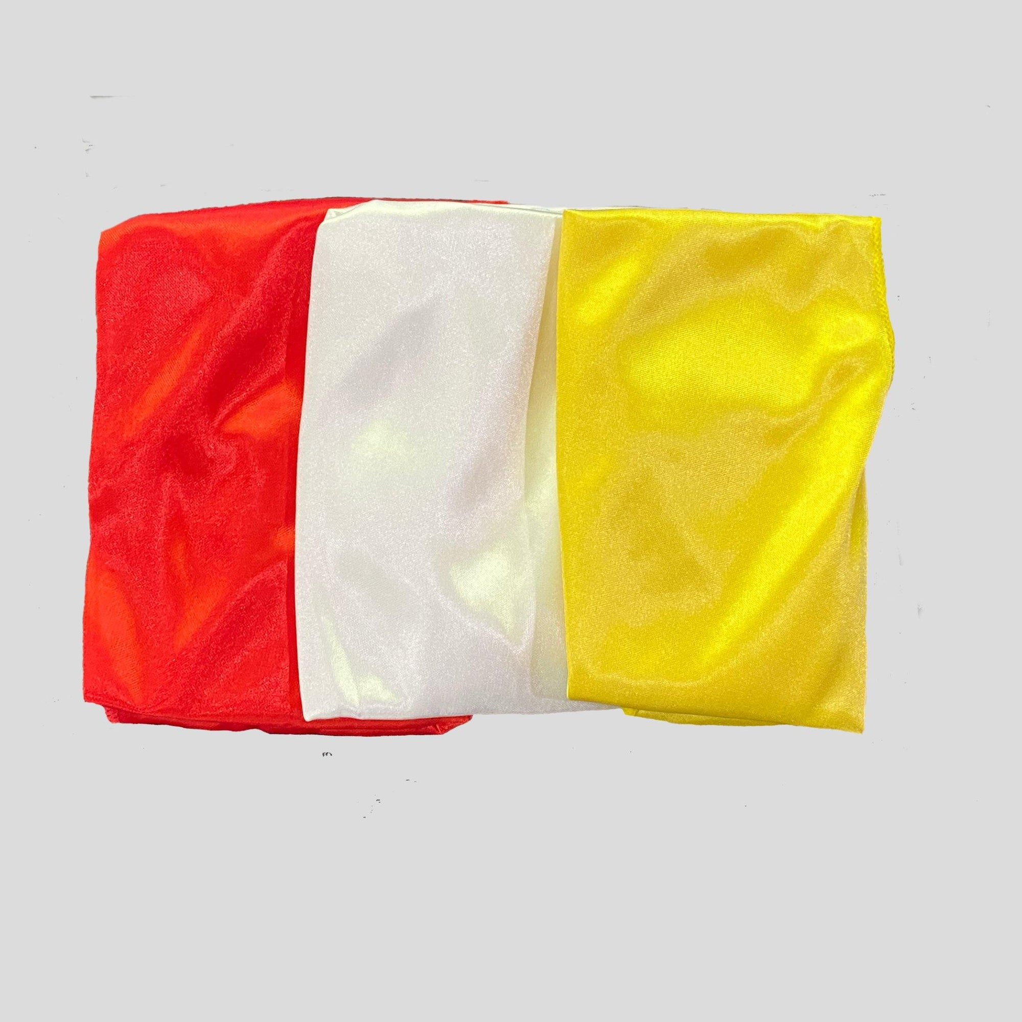 3 Pack Silky Durags (Red, White, Yellow) | Durag Wave