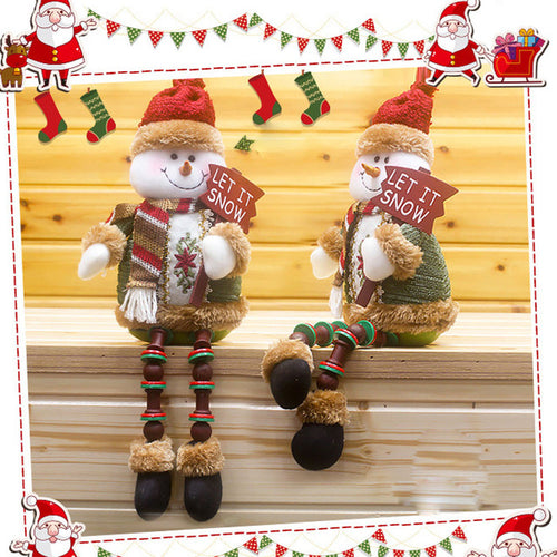 Christmas Decorations Santa Xmas Tree Toy Claus