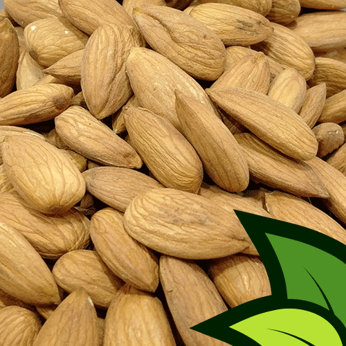 American Almonds (Large Badaam Unshelled) - Organic Co