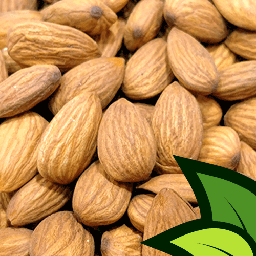 American Almonds (Regular Badaam Unshelled) - Organic Co