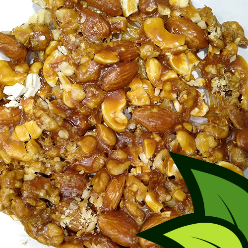 Mix Nuts Premium Ghachak (Made in Raw Brown Sugar) - Organic Co