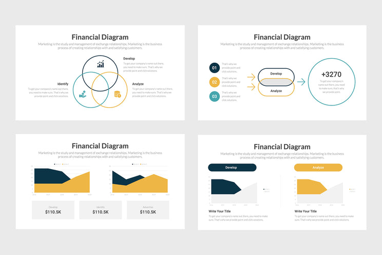 PPT Finance Diagrams Infographics Templates for PowerPoint, Excel, Keynote