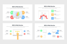 SEO And Web Service Infographics