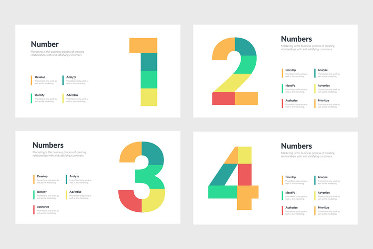 Number Infographics