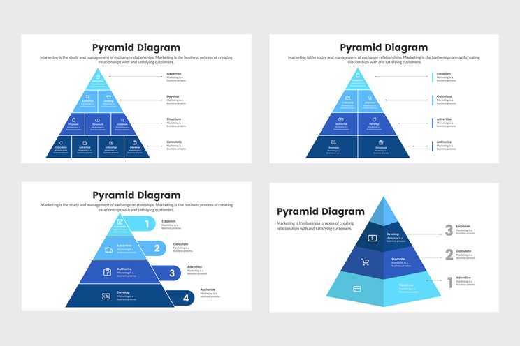 PPT Pyramid Diagram Templates for PowerPoint, Keynote, Google Slides, Adobe Illustrator, Adobe Photoshop