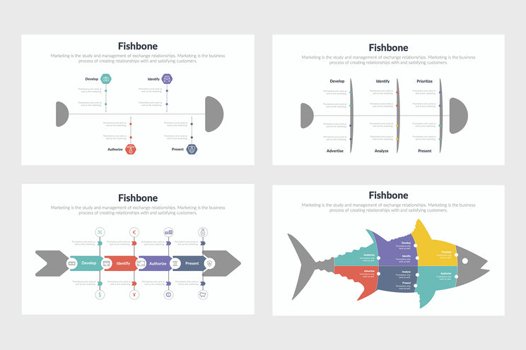 Fishbone Infographics