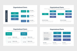 Organizational Charts Diagrams