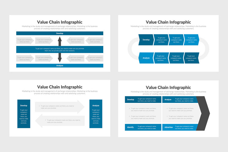 Value Chain Infographics Templates for PowerPoint, Keynote, Google Slides