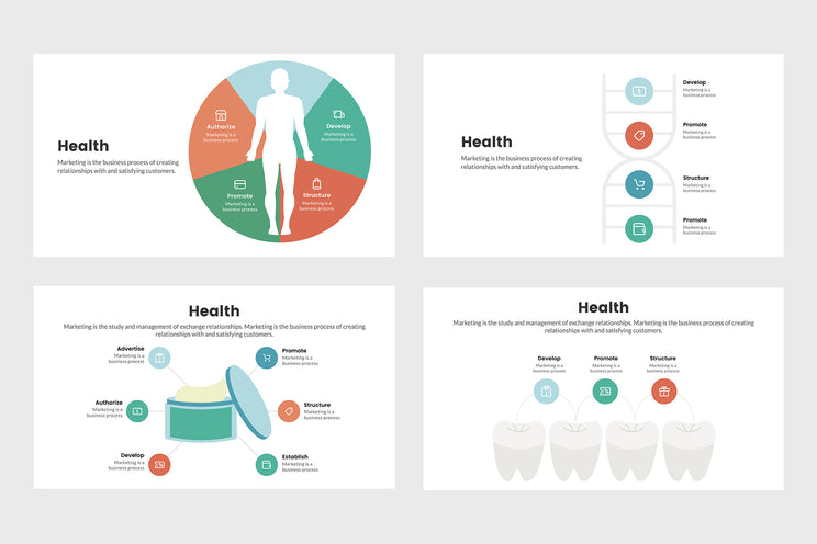 Health Diagram Infographics