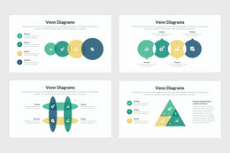 Venn Diagrams Infographics Templates for PowerPoint, Keynote, Google Slides