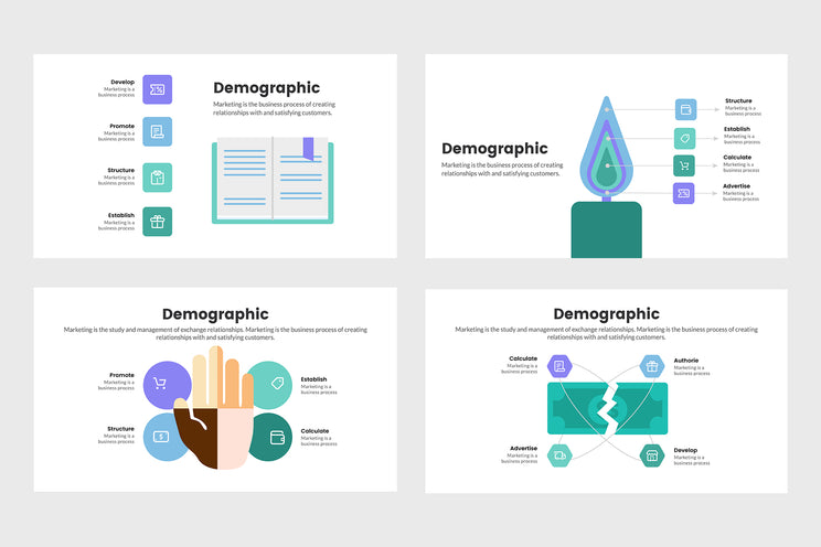 PPT Demographic Diagrams Infographics Infographics Templates for PowerPoint, Keynote, Google Slides, Adobe Illustrator, Adobe Photoshop