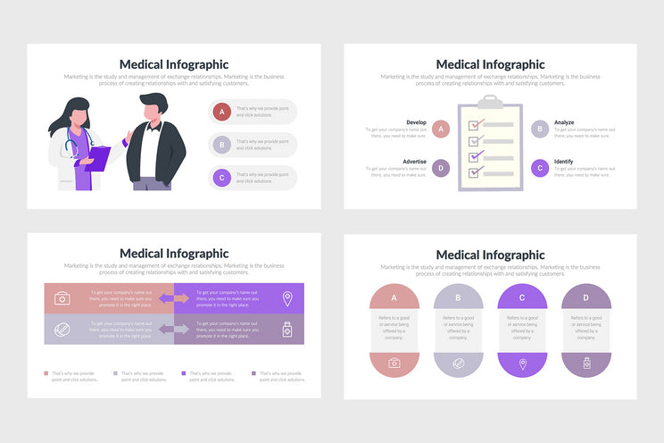 PPT Medical Infographics Templates for PowerPoint, Keynote, Google Slides
