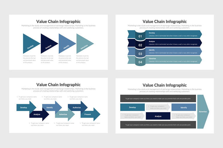 Value Chain Infographics