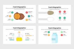 PPT Food Infographics Templates for PowerPoint, Keynote, Google Slides, Adobe Illustrator, Adobe Photoshop