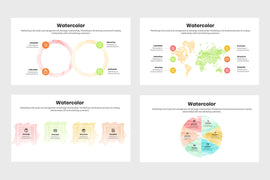 Watercolor Infographics