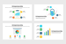 PPT Entrepreneurship Infographics Templates for PowerPoint, Keynote, Google Slides, Adobe Illustrator, Adobe Photoshop