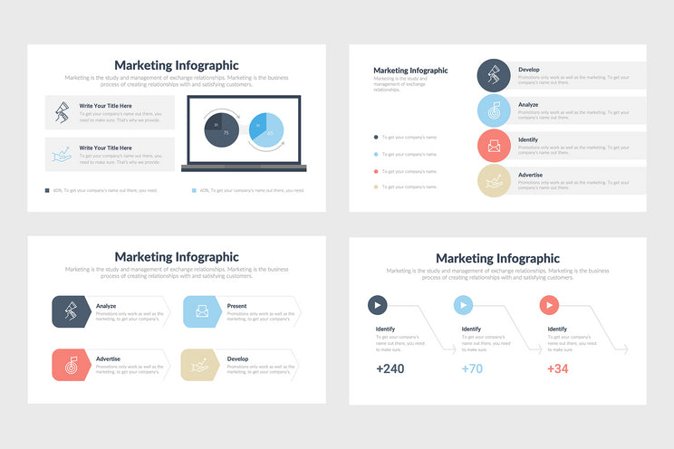 PPT Marketing Diagrams Templates for PowerPoint, Keynote, Google Slides
