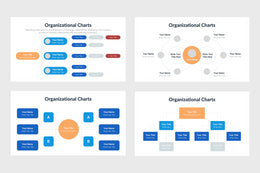 PPT Organizational Charts Diagrams Templates for PowerPoint, Keynote, Google Slides