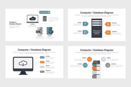 PPT Computer and Database Infographics Templates for PowerPoint, Keynote, Google Slides,