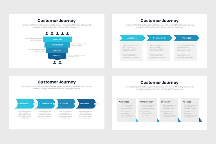 PPT Customer Journey Infographics Templates for PowerPoint, Keynote, Google Slides