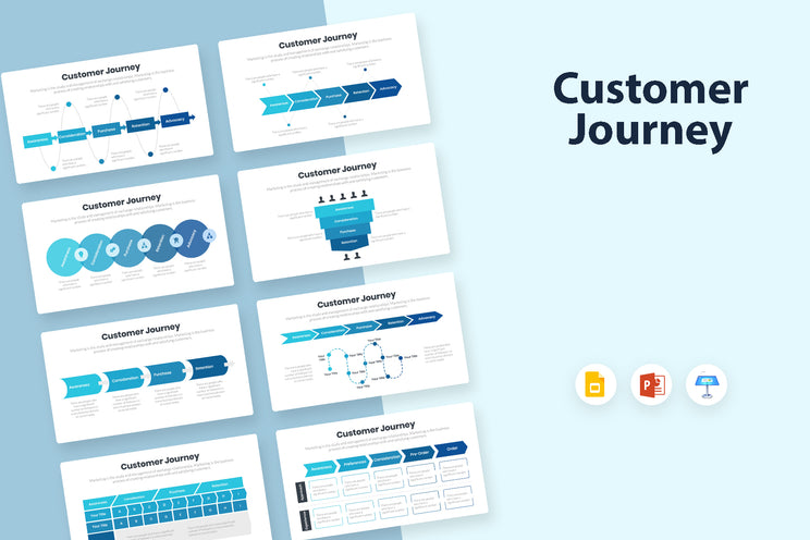 Customer Journey Infographics