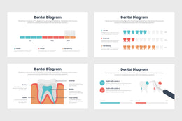 PPT Dental Diagrams Infographics Templates for PowerPoint, Keynote, Google Slides