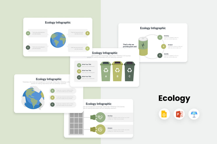 Ecology Infographics
