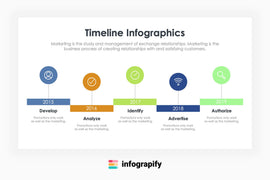 Free Timeline by Infograpify