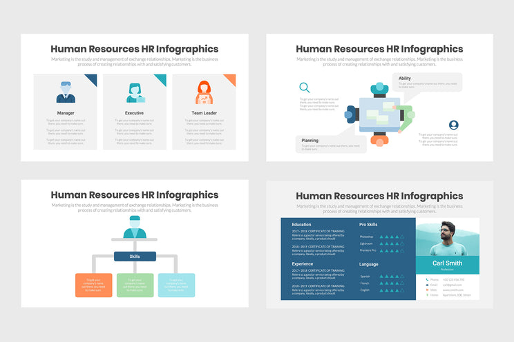 Human Resources HR Infographics