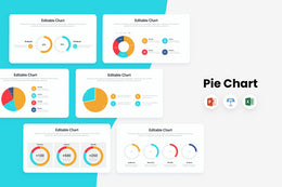 PPT Pie Charts Infographics Templates for PowerPoint, Keynote, Excel
