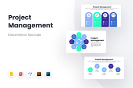 PPT Project Management Infographics Templates for PowerPoint, Keynote, Google Slides, Adobe Illustrator, Adobe Photoshop