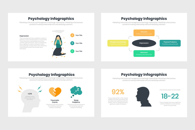 Psychology Infographics