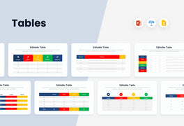 Tables Charts Infographics