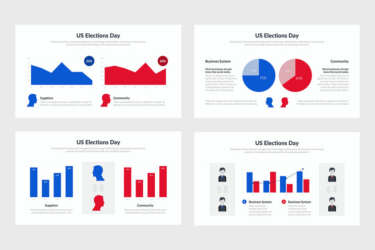 US Elections Templates for PowerPoint, Keynote, Google Slides
