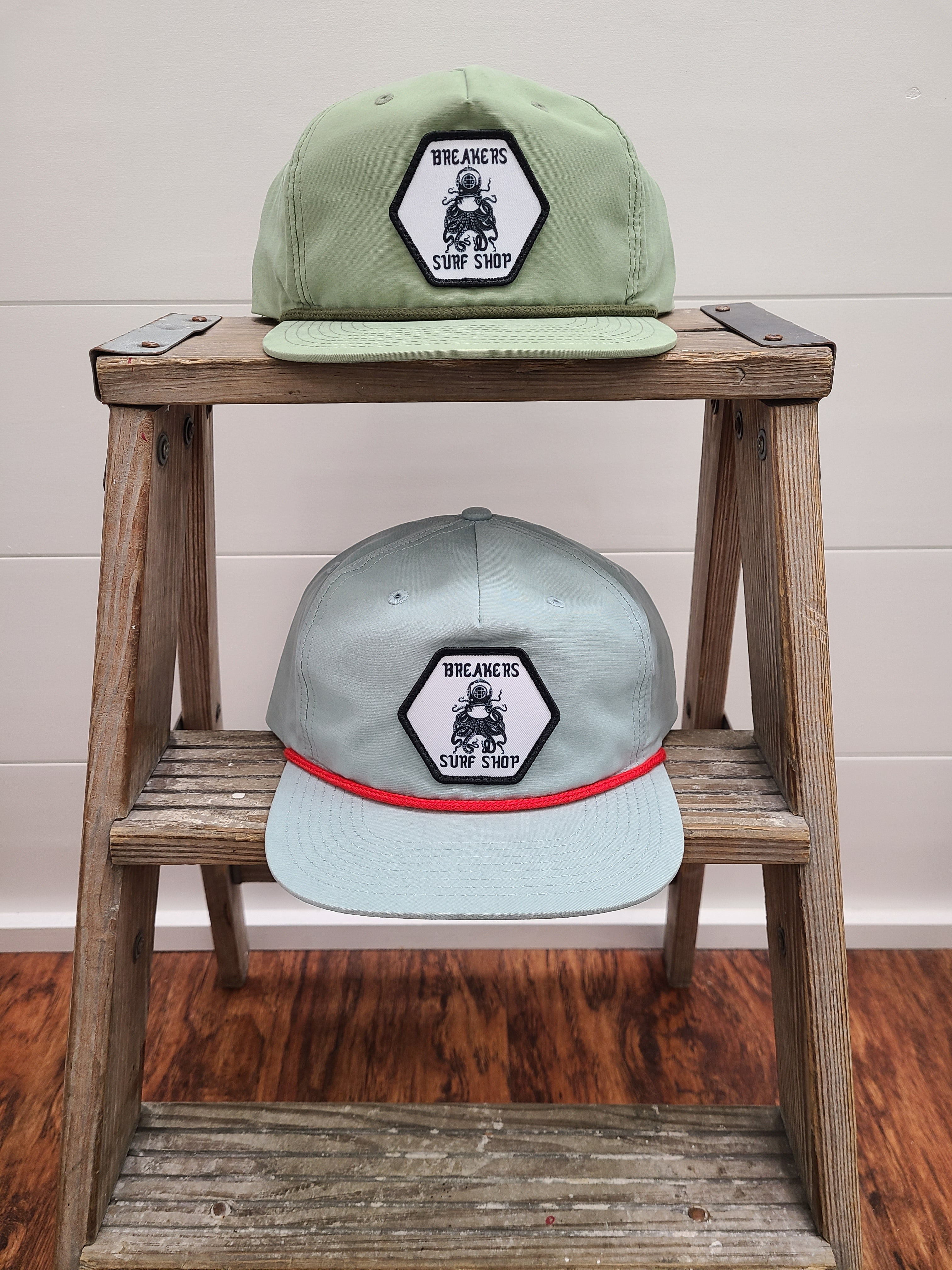 Octopus Five Panel Nylon Snapback