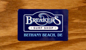 Breakers Gift Card