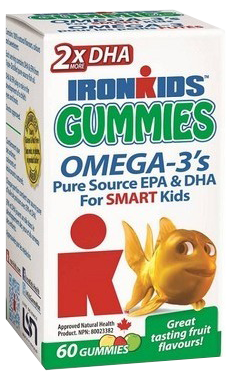 Gummies Omega-3s for Smart Kids