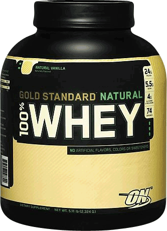 Natural 100% Whey Gold Standard