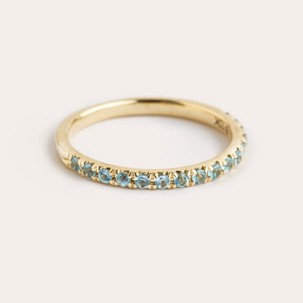 Blue Topaz Semi Stacker