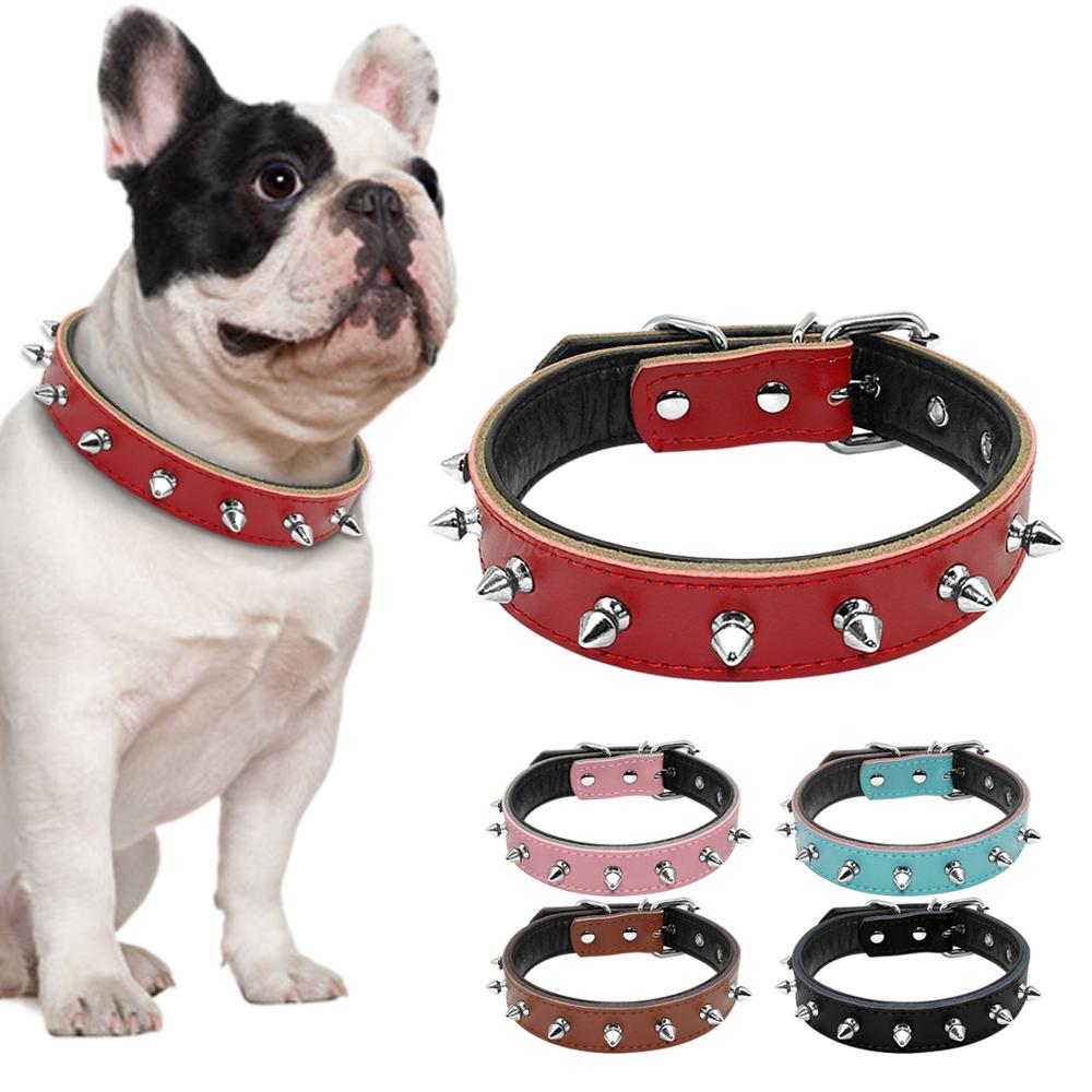 1 Row Studded Collar For Small Dogs