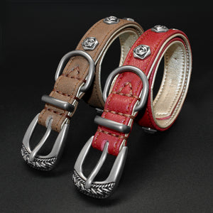 Real Leather Puppy collar