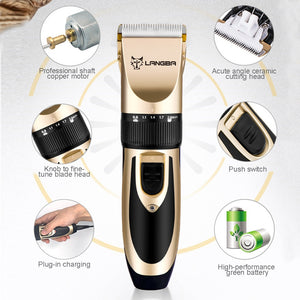 Pet Hair Trimmer Nail Grooming Kit