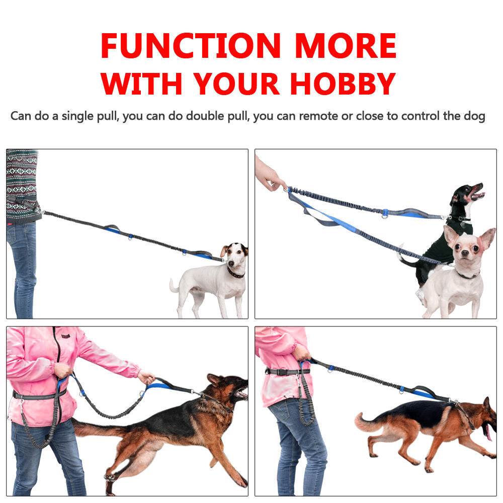 Running Waist Belt Leash