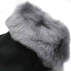 Winter Jacket With Fur Hood